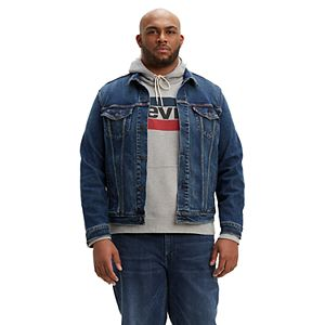 Big & Tall Levi's Denim Trucker Jacket