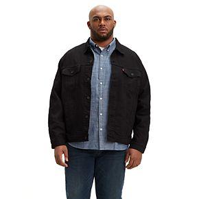 Big & Tall Levi's Denim Trucker Jacket