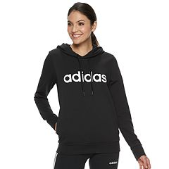 Women's adidas Essentials Linear Graphic Hoodie