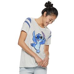 Disney's Lilo & Stitch Juniors' Graphic Varsity Tee