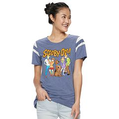 Juniors' Scooby Doo Graphic Varsity Tee