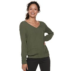 Juniors' Grayson Threads V-Neck Top