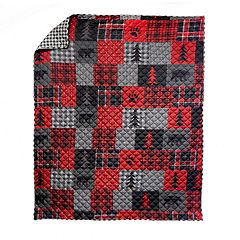 Donna Sharp Crimson Paw Throw