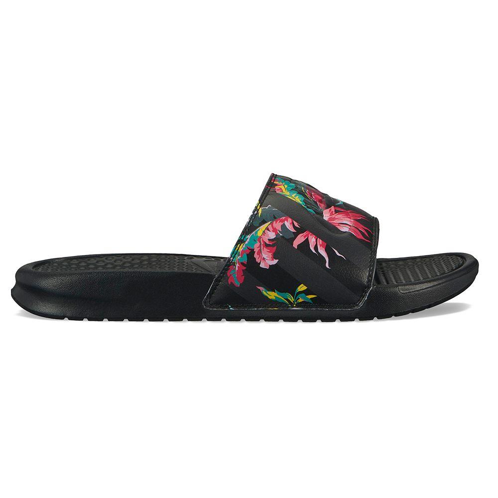 Nike Benassi JDI Tropical Men's Slide Sandals