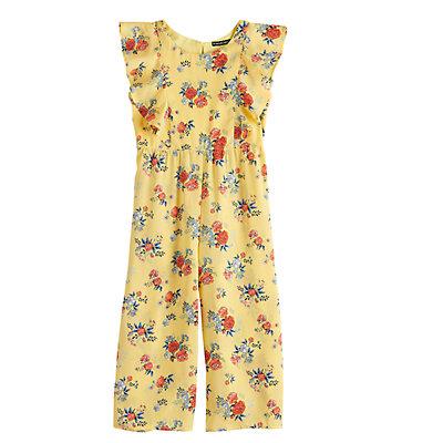 Girls 7-16 My Michelle Floral Flutter Jumpsuit