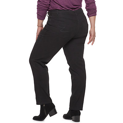 Plus Size Just My Size Straight-Leg Jeans