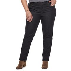 a01b480187844 Plus Size Just My Size Straight-Leg Jeans