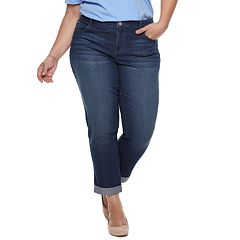Plus Size Just My Size Boyfriend Jeans
