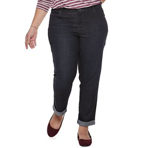 3ce4ca5762a18 Plus Size Lee Flex Motion Regular Fit Straight-Leg Jeans