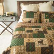 Donna Sharp Deer Forest Quilt Set