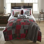 Donna Sharp Crimson Paw Quilt Set
