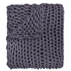 Donna Sharp Chunky Knit Throw