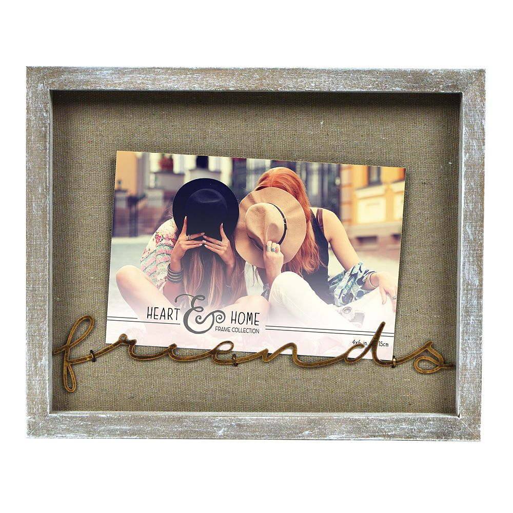 """New View """"Friends"""" Wire Clip Frame"""