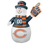 Boelter Chicago Bears Inflatable Snowman