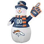 Boelter Denver Broncos Inflatable Snowman