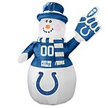 Boelter Indianapolis Colts Inflatable Snowman