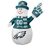 Boelter Philadelphia Eagles Inflatable Snowman
