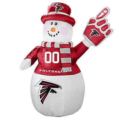 Boelter Atlanta Falcons Inflatable Snowman