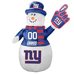 Boelter New York Giants Inflatable Snowman