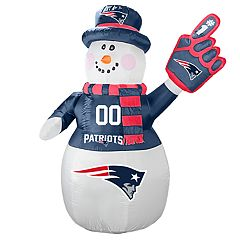 Boelter New England Patriots Inflatable Snowman