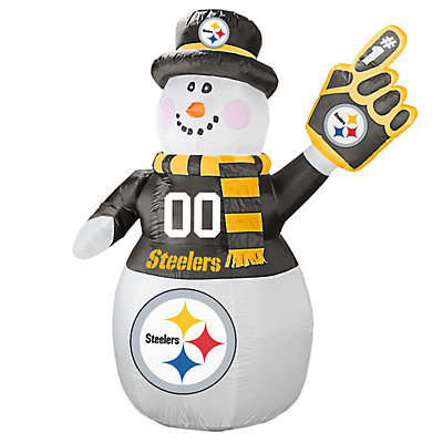 Boelter Pittsburgh Steelers Inflatable Snowman