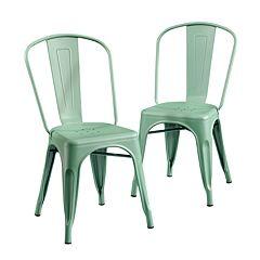 Sauder New Grange Metcafe Dining Chair 2-piece Set