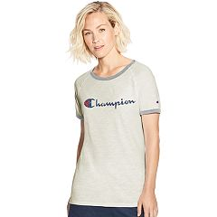 Women's Champion Heritage Ringer Graphic Tee