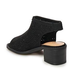 SO® Sand Dollar Girls' High Heel Sandals