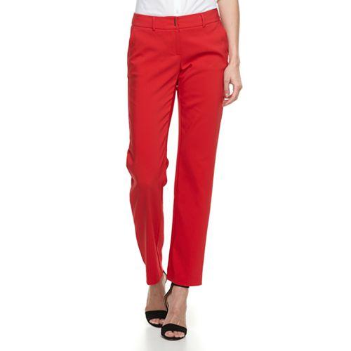 376afc5e75526 Women s Apt. 9® Torie Midrise Modern Fit Straight-Leg Dress Pants