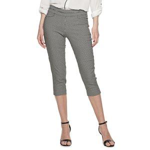 Petite Apt. 9® Brynn Pull-On Capri Pants