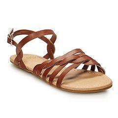 SO® Braided Girls' Sandals