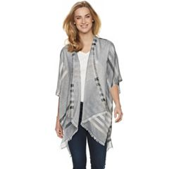 Women's SONOMA Goods for Life™ Scattered Striped Ruana