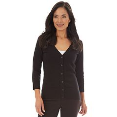 Women's Apt. 9® Button Front Cardigan