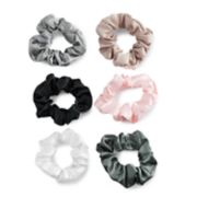 SO® Satin Scrunchie Hair Tie Set