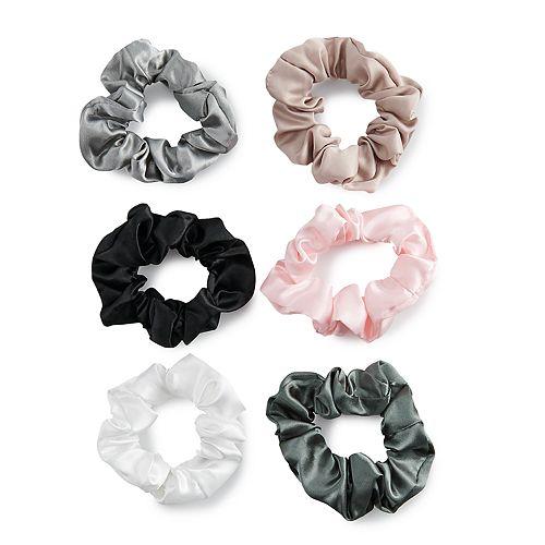 SO® Satin Scrunchie Hair Tie Set