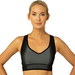 Spalding Seamless Ombre Dip-Dye Medium-Impact Sports Bra