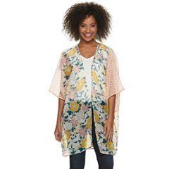 Women's SONOMA Goods for Life™ Floral Lightweight Ruana