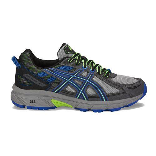 boys asics running shoes