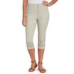 Women's Gloria Vanderbilt Amanda Embellished Capri Jeans