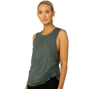 Women's Spalding Exhale Ruched Tank