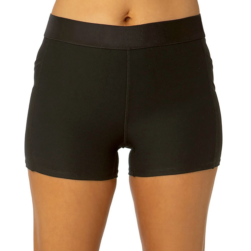Women's Spalding Fitted Tech Midrise Shorts
