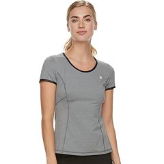 Women's FILA SPORT® Cross Back Short Sleeve Tee