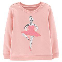 Toddler Girl OshKosh B'gosh Embellished Graphic Sweatshirt