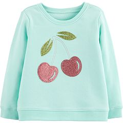 Toddler Girl OshKosh B'gosh Embellished Graphic Sweatshirt