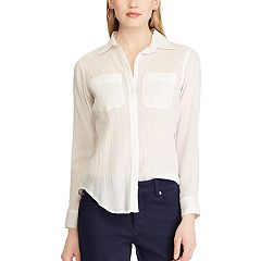 Women's Chaps Chambray Shirt