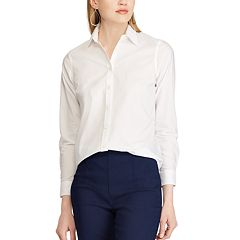 Petite Chaps Non-Iron Button Down Shirt