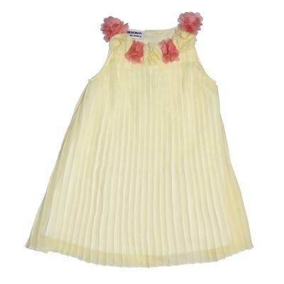 Girls 4-6x Blueberi Boulevard Pleated Chiffon Dress
