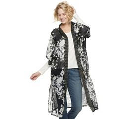 Women's SONOMA Goods for Life™ Ditsy Floral Border Kimono