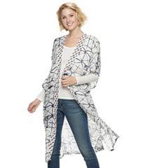 1a043376906c3 Womens SONOMA Goods for Life Kimonos Tops & Tees | Kohl's
