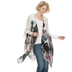 Women's SONOMA Goods for Life™ Poppies Please Ruana